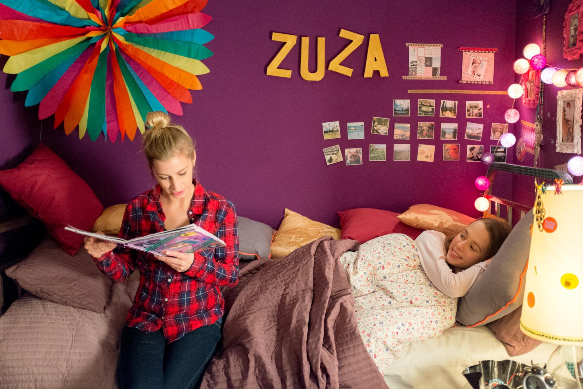 Magdalena Schejbal (Marta) i Magdalena Żak (Zuza)
